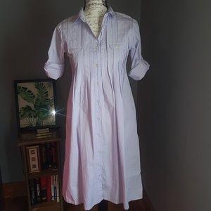 Gap a-line shirt dress